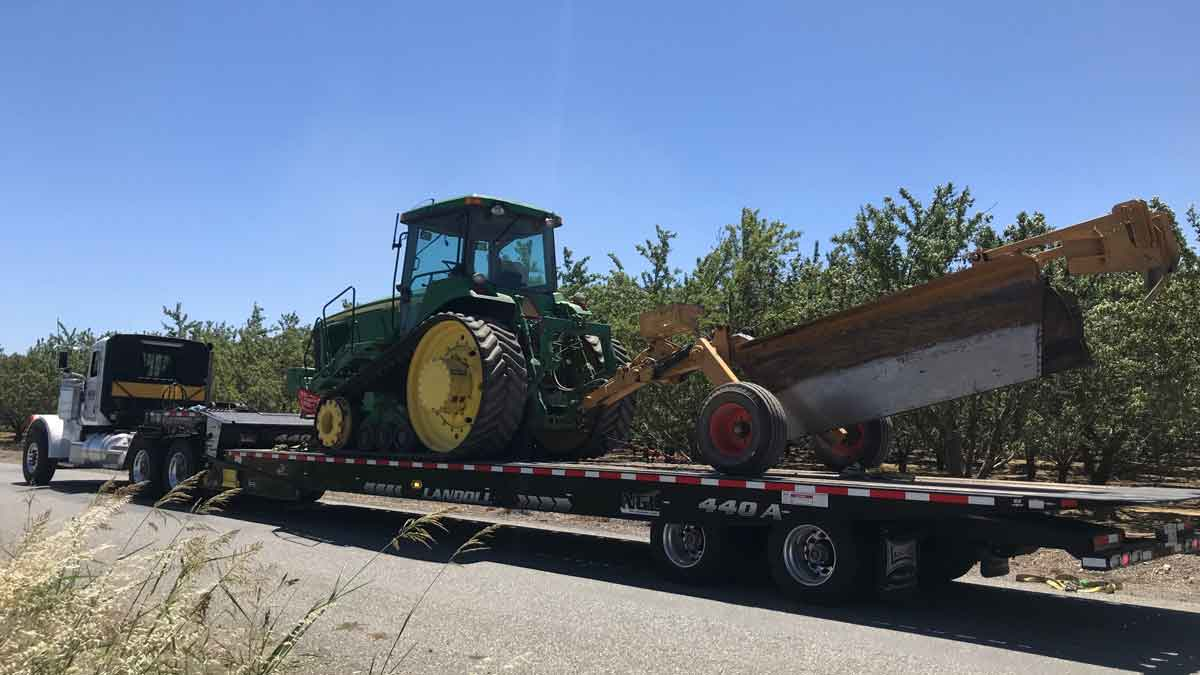 Central CA Equipment Hauling