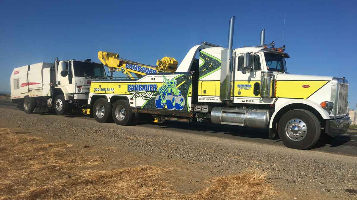 Towing Oroville California